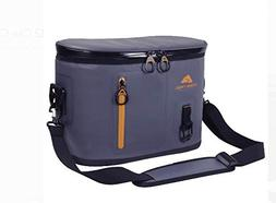 Ozark Trail Premium 12 Can Cooler, Gray