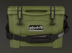 Grizzly Coolers 15 Quart Rotomolded Cooler, OD Green