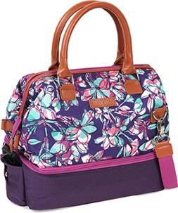 Arctic Zone 1528AMPR0425 Insulated Lunch Tote, Purple