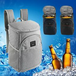 18L Insulated Cooling Backpack Picnic Camping Knapsack Beach