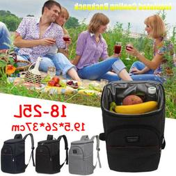 18l insulated cooling backpack picnic camping rucksack