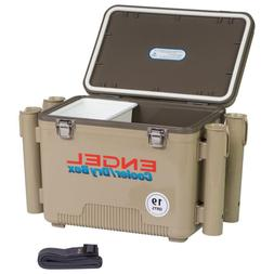 19 Qt. Fishing Rod Holder Attachment Insulated Dry Box Coole