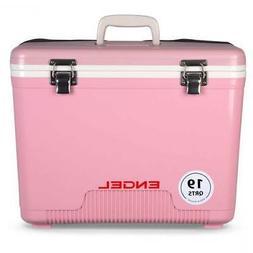 NEW Engel 19Qt Dry Box Cooler Pink UC19-P