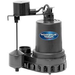 Superior Pump 92572 1/2 HP Plastic Sump Pump