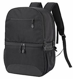 MIER 2-in-1 Insulated Cooler Backpack Hiking Daypack + Lunch