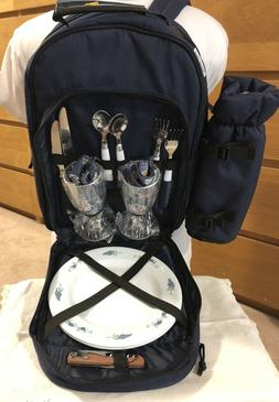 PICNIC AT ASCOT 2 Person Picnic Backpack Insulated Wine Hold