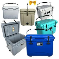 Outdoors 20 QT Cooler Ice Chest Box RotoMolded High Performa