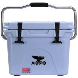 ORCA 20 QT LIGHT BLUE COOLER / LIFETIME WARRANTY / LIGHT BLU