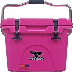20 QT Pink ORCA Cooler