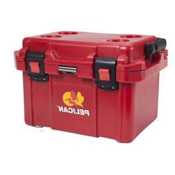 Pelican 20 Quart Elite Cooler, Red