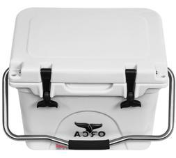 ORCA 20 Quart Premium Roto-Molded Cooler - White