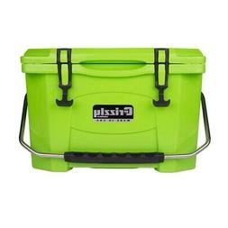 Grizzly Coolers 20 Quart Rotomolded Cooler, Lime Green