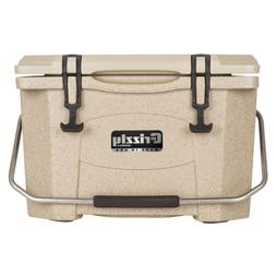 Grizzly Coolers 20 Quart Rotomolded Cooler, Sandstone
