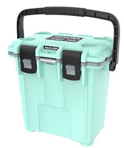 New 2017 Pelican Elite Seafoam 20QT Cooler with carry handle