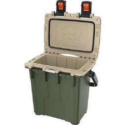 Pelican 20Q2ODTAN 20 Quart Elite Cooler, Green/Tan