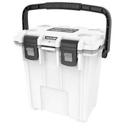 Pelican 20QT Elite Cooler White/Gray