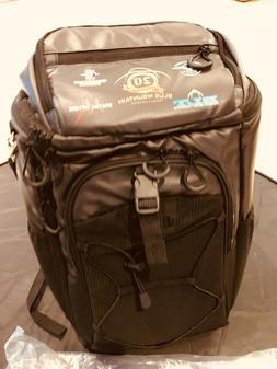 24-can Backpack Cooler Black 20th anniversary Blue Mountain