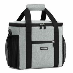 24 Can Cooler Bag Soft Sided Collapsible Insulated Lunch Coo