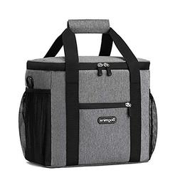Bagmine 24 Can Cooler Bag Solf Side, Collapsible Insulated L