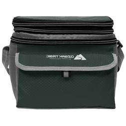 Ozark Trail 24-Can Cooler with Removable Hardliner Green New