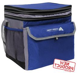 24 Can Lunch Box Cooler Bag Expandable Durable Lunchbox Outd