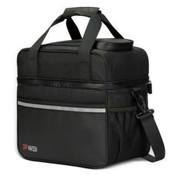 24 Cans Large Insulated Cooler Bag 20L Leakproof Soft Cooler