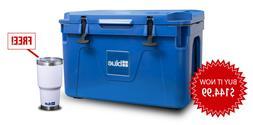 Blue Coolers 25L  Companion Cooler + FREE Tumbler + FREE Shi