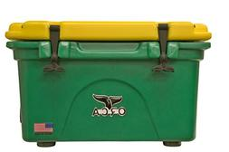 ORCA 26 Quart Green/Yellow Cooler with Handles
