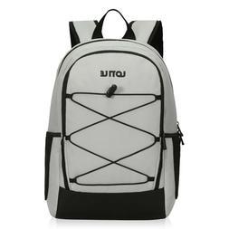 27 Cans Insulated Cooler Backpack Leakproof Soft Cooler Bag