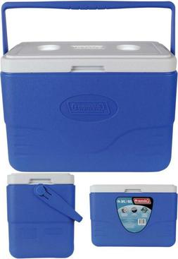 Coleman 28-Quart Cooler With Bail Handle, Blue