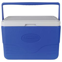 28 quart cooler with bail handle blue