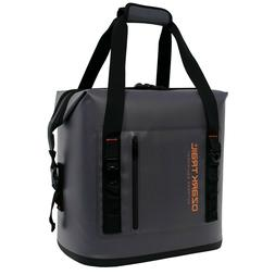 Ozark Trail 30 Can Premium Cooler Gray Black Grey New with T