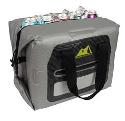 Arctic Zone 30 Can Self-Inflating Air Cooler, Grey, Large