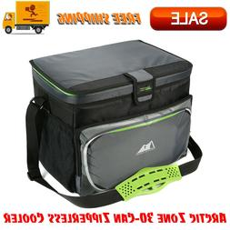 30 can zipperless cooler fda compliant outdoor