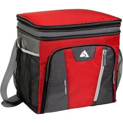 36-Can Cooler with Removable Hardliner, Red