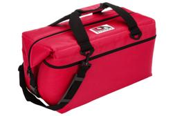 AO Coolers 36 Pack Canvas Soft Sided Cooler - Red - AO36RD
