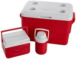 Coleman 3-Piece 36 Quart Cooler Combo
