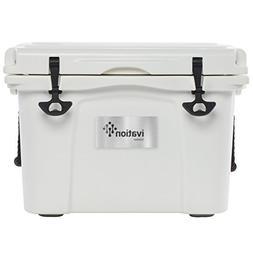 Ivation 37-Quart Rotomolded Heavy Duty Cooler Box – With B