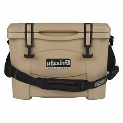GRIZZLY COOLERS 400001   GRIZZLY G15 TAN/TAN 15 QUART COOLER