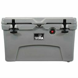 nICE 45 Quart Insulated Portable Ice Chest Beverage Cooler w