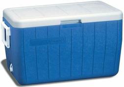 Coleman 48-Quart Performance Cooler ice chest--- blue