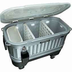 Igloo 49271 Party Bar Cooler – Powered by LiddUp 125QT Wit