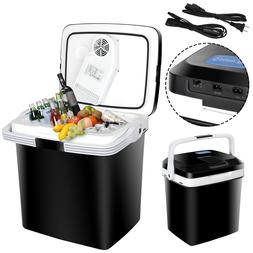 5.7Gal Car Iceless Thermoelectric Cooler&Warmer Travel Fridg