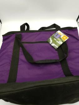 OZARK TRAIL 50 Can Purple Thermal Tote Bag