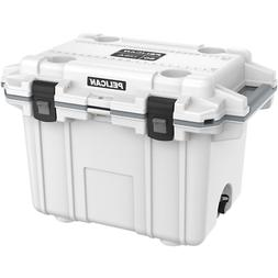 PELICAN  50QT  Elite Cooler - White/Gray -** TAX FREE