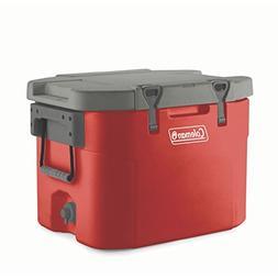 Coleman 55 Quart Heavy-Duty Super Cooler, Horizon Red