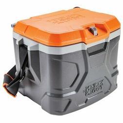 Klein 55600 17 qt. Tradesman Pro Tough Box Hard Cooler, Gray