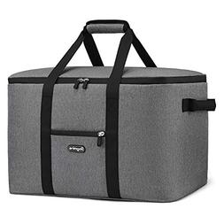 Bagmine 65 Cans Cooler Bag, Soft-Sided Collapsible Car Coole