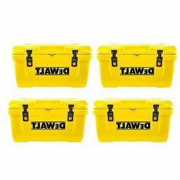 DeWalt 65 Quart Roto Molded Insulated Lunch Box Portable Dri