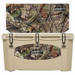 Grizzly Coolers 75 Quart Rotomolded Cooler, Tan Mossy Oak Br